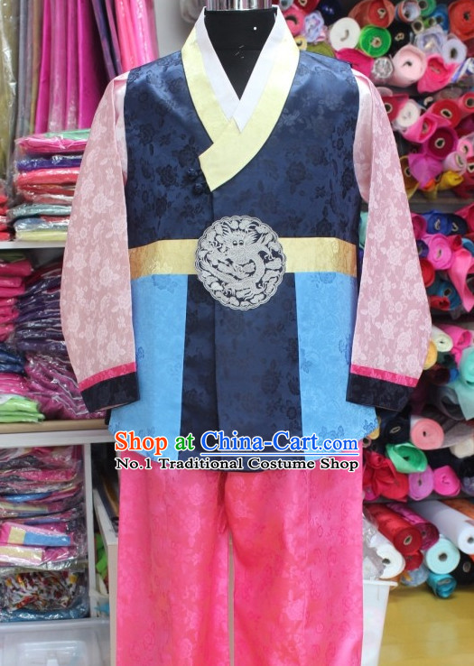 Korean Sir National Costumes Traditional Hanbok Clothes online Shopping
