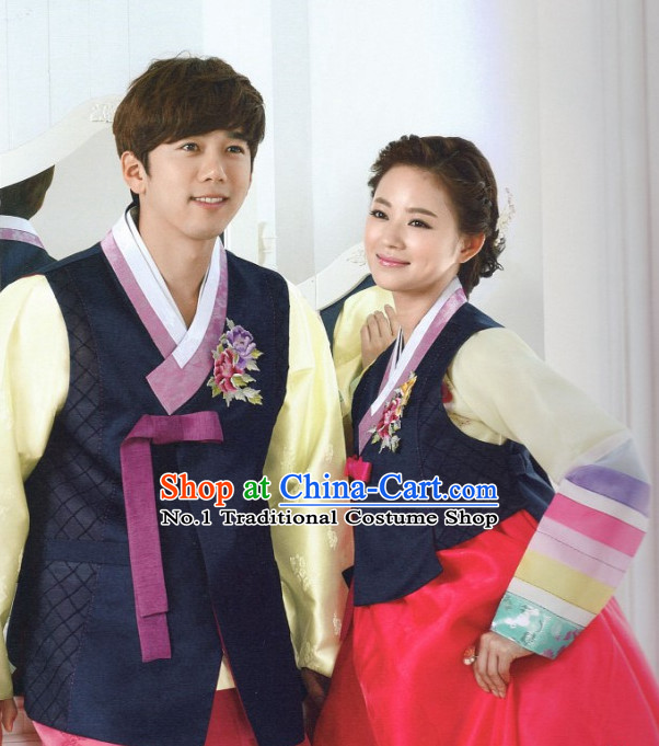 Korean Family National Costumes Traditional Hanbok Clothes online Shopping