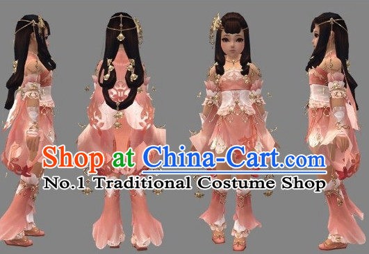 Custom Made According to Your Picture Asian Chinese Ancient Traditional Female Long Wigs