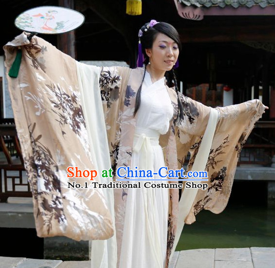 Traditional Chinese Han Clothing for Girls Free Delivery Worldwide