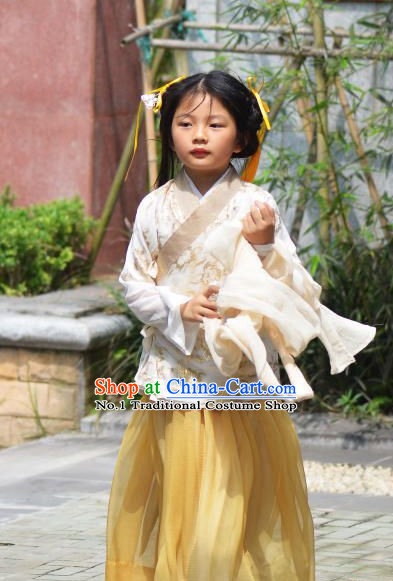 Traditional Chinese Han Clothing for Kids Free Delivery Worldwide
