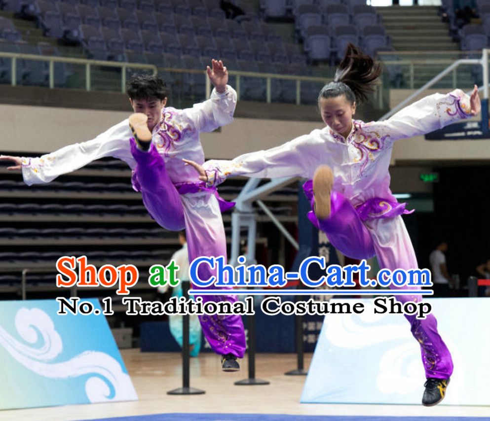 Top Tai Chi Qi Gong Yoga Clothing Yoga Wear Yang Tai Chi Quan Kung Fu Pants Suit for Men or Women