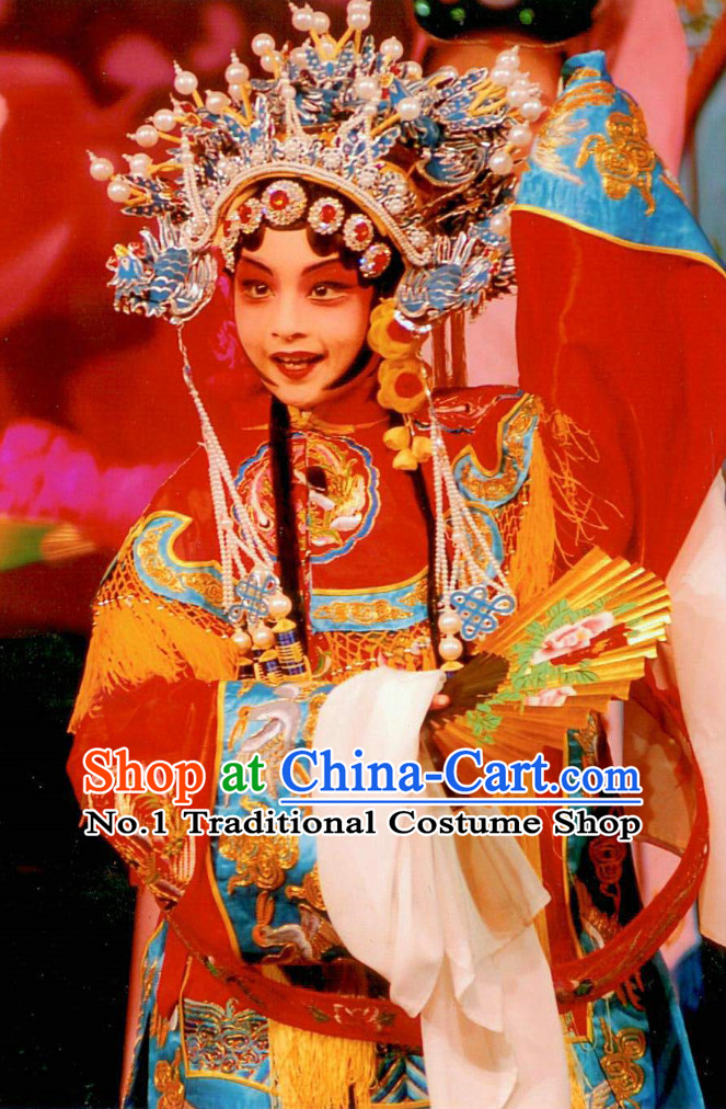 Asian Fashion China Traditional Chinese Dress Ancient Chinese Clothing Chinese Traditional Wear Chinese Opera Empress Costumes for Children