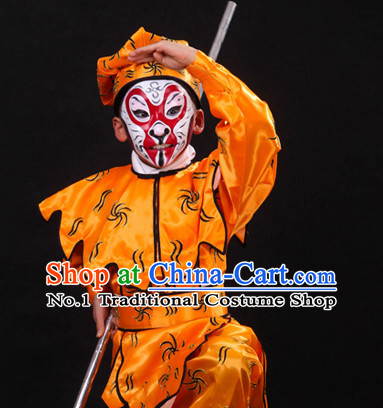 Asian Fashion China Traditional Chinese Dress Ancient Chinese Clothing Chinese Traditional Wear Chinese Opera Sun Wu Kong Costumes for Child