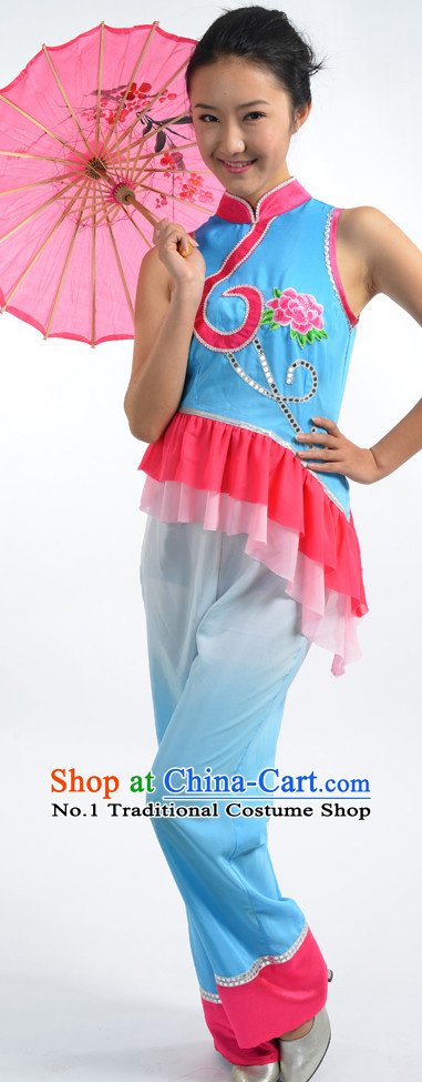 Asian Fashion China Dance Apparel Dance Stores Dance Supply Discount Chinese Han Minority Dance Costumes for Women