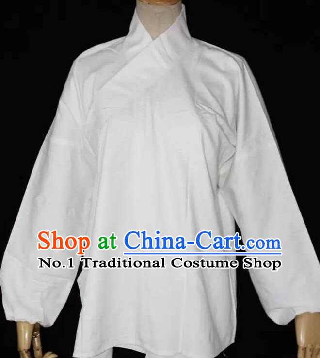 Asian Chinese Traditional Dress Theatrical Costumes Ancient Chinese Clothing Chinese Attire White Inside Blouse