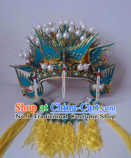 Top Traditional Chinese Peking Opera Theatrical Costumes Empress Coronet