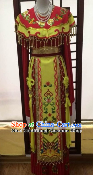 Asian Chinese Traditional Dress Theatrical Costumes Ancient Chinese Clothing Chinese Attire Mandarin Opera Empress Costumes for Women