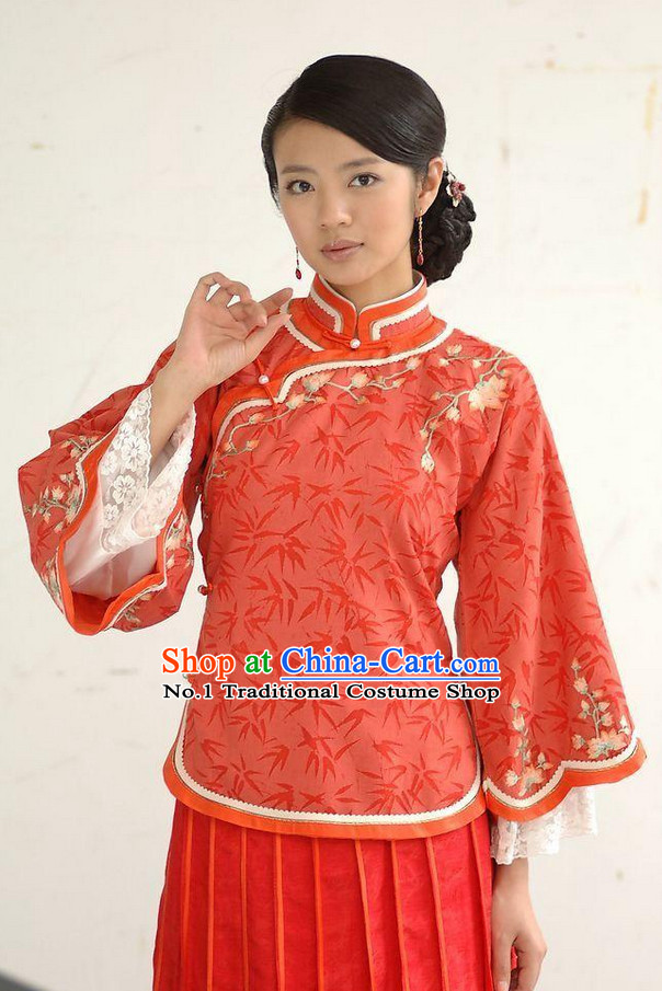 Chinese Minguo Time Folk Dress for Women