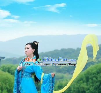Chinese Han Clothing Plus Size Dress Complete Set for Women