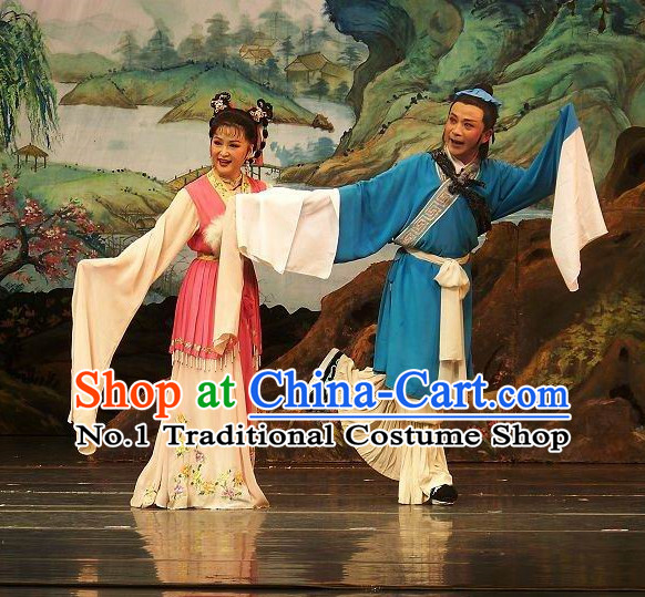 Chinese Goddess Marriage Husband and Wife Costumes 2 Complete Sets
