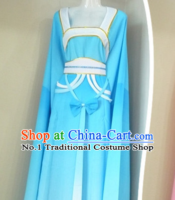 Asian Fashion Chinese Beijing Opera Water Sleeve Dance Costumes for Ladies