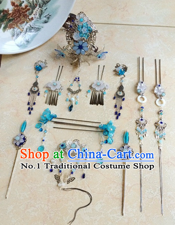 Traditional Chinese Princess Handmade Hair Pins Hair Jewelry