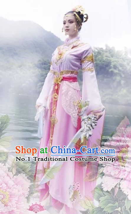 Top Chinese Empress Halloween Costumes and Accessories Complete Set