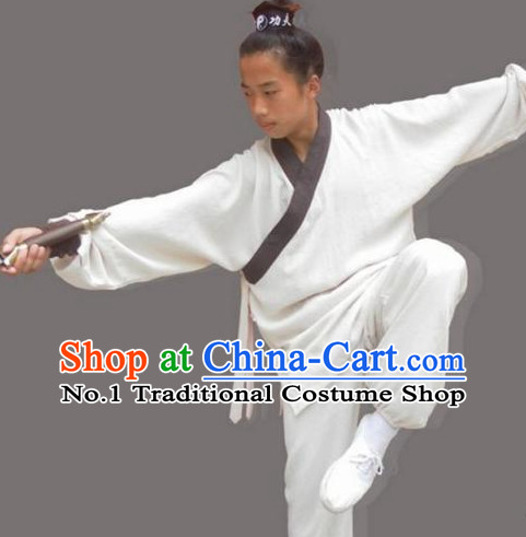 China Wudang Mountain Taoist Clothing Complete Set for Men