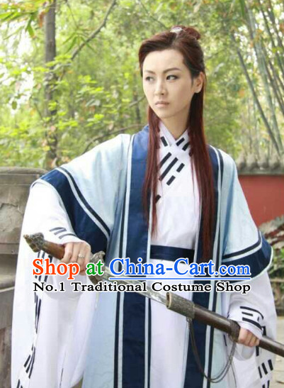 China Wudang Taoist Clothes Complete Set