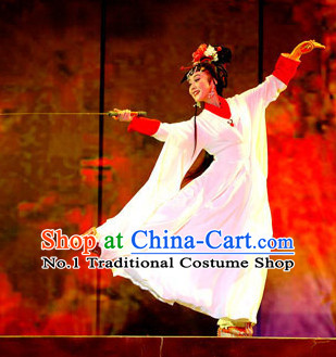 Asian Chinese Traditional Dress Theatrical Costumes Ancient Chinese Clothing Opera Sword Dance Costumes for Women