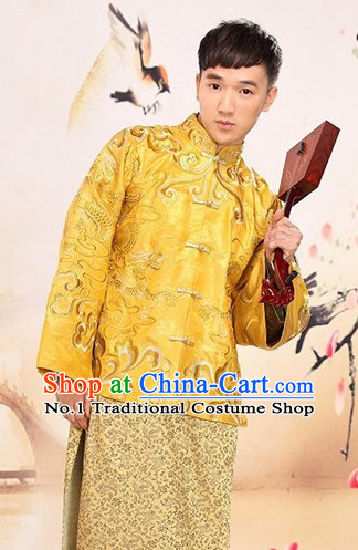 Top Chinese Wedding Dress Bridal Costumes Ma Gua Attire for Men