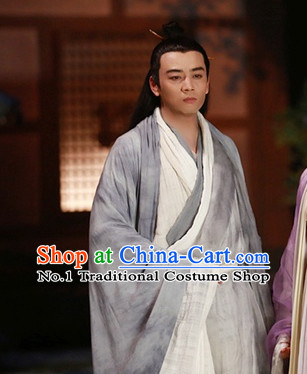 Chinese Hanfu Asian Fashion Japanese Fashion Plus Size Dresses Vntage Dresses Traditional Clothing Asian Costumes Hua Qian Hanfu Costume for Men