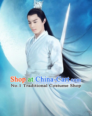 Traditional Chinese Handmade Coronet Hair Accessories for Men