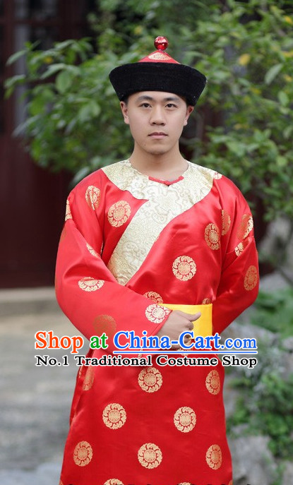 Traditional Chinese Classical Performance Costumes for Men