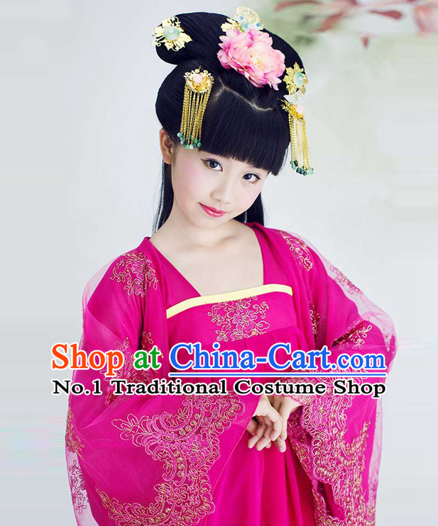 Traditional Chinese Fairy Costumes for Kids