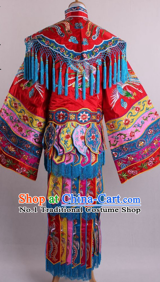 Traditional Chinese Dress Ancient Chinese Clothing Theatrical Costumes Chinese Opera Empress Costumes Cultural Costume for Women