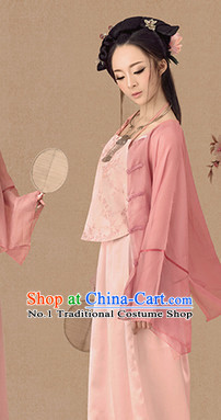 Traditional Chinese Photo Costume Minguo Costumes and Hair Accessories for Women