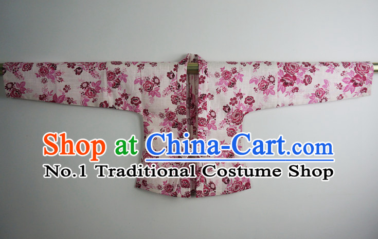 Traditional Ancient Chinese Female Jacket Complete Set
