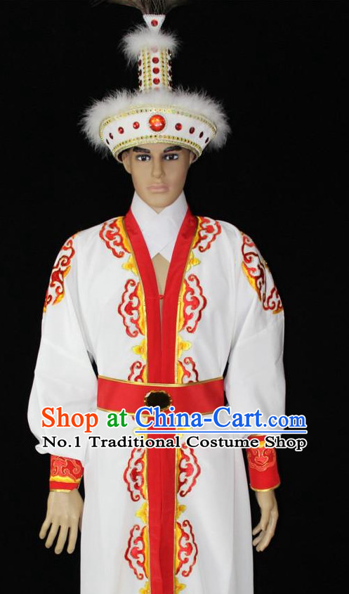 China Desert Prince Costumes and Hat Complete Set for Men