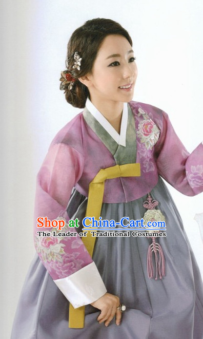 Top Korean National Hanbok Costumes for Women