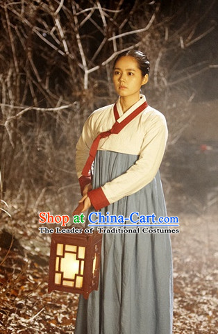 Ancient Korean Classic Hanbok Clothes for Girls