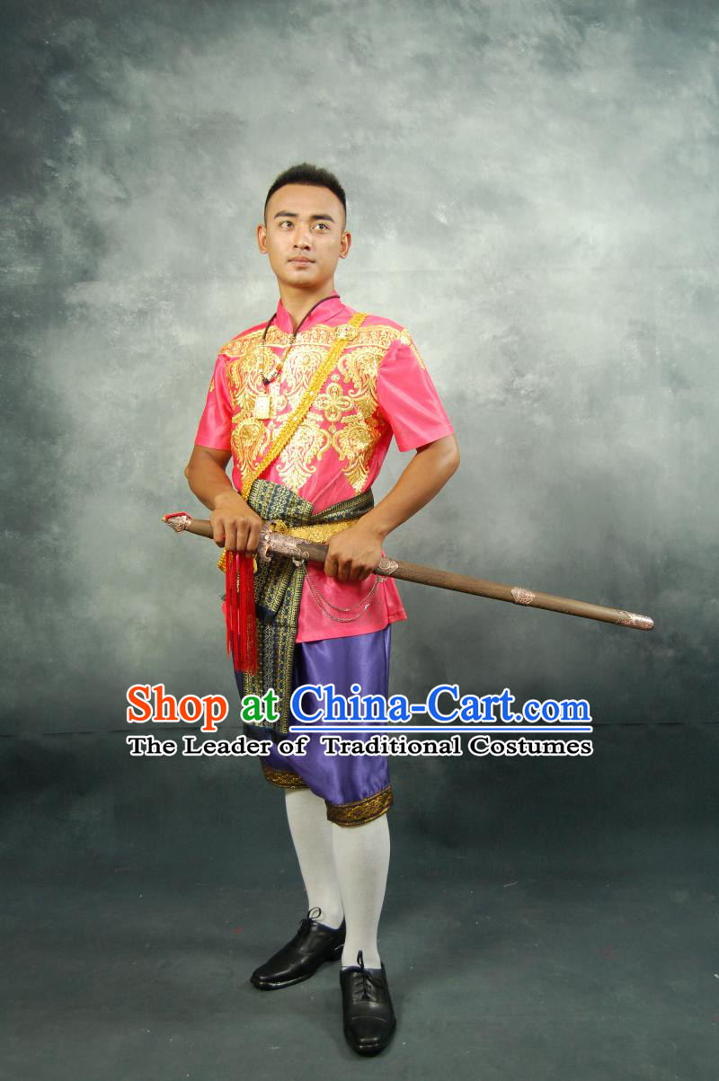 Thailand Traditional Wedding Dresses for Men