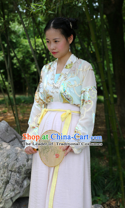 Ancient Chinese Hanfu Halloween Costume Plus Size Costumes online Shopping