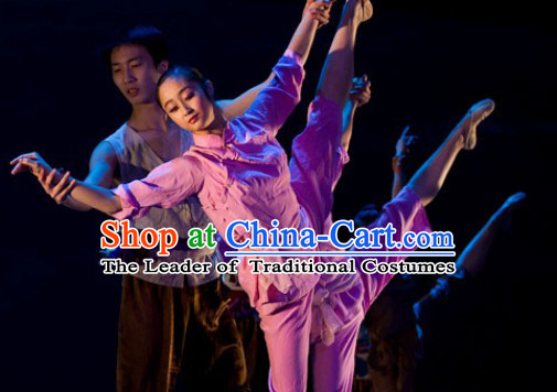 Chinese Classical Dance Costume Uniforms for Women