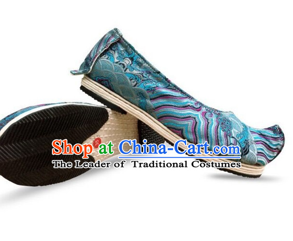 Ancient Style Female Phoenix Head Shoes