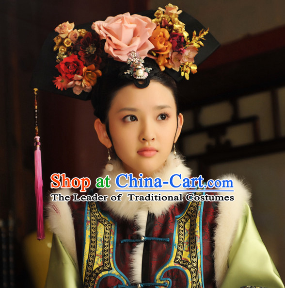 Qing Imperial Empress Hair Jewelry Set