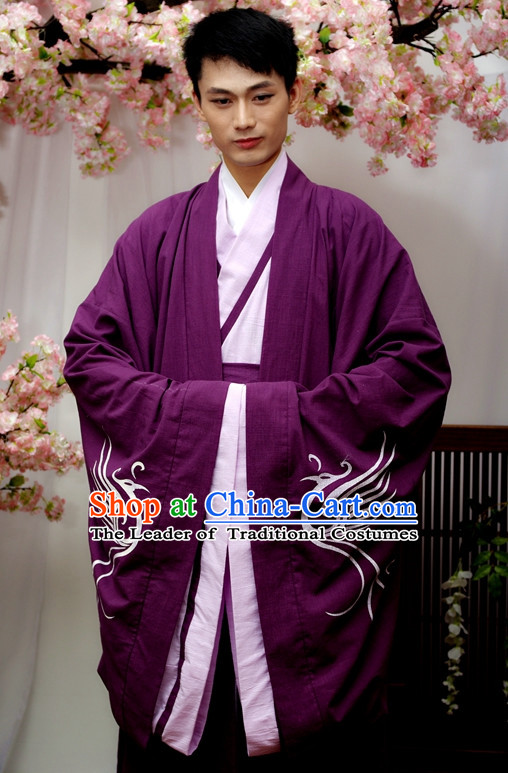 Chinese Male Hanfu Costume Ancient Costume Traditional Clothing Traditiional Dress Costume China China Wholesale Clothing online