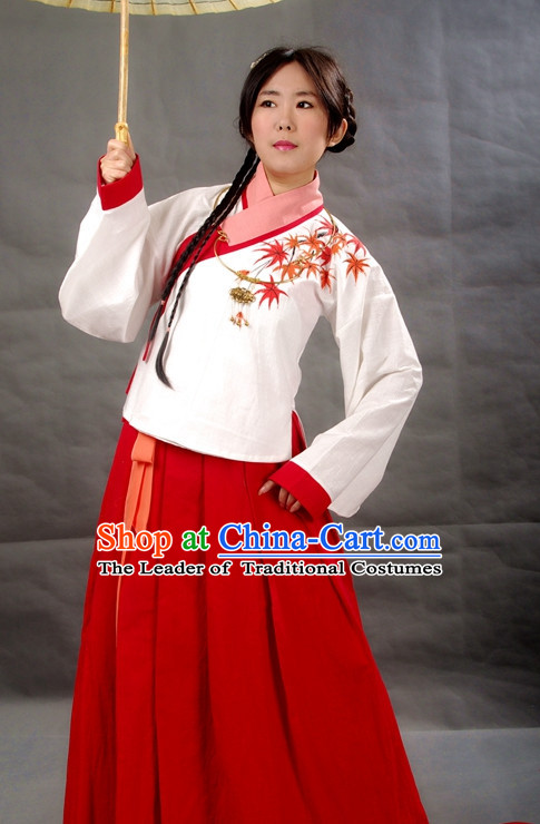 Chinese Girls Hanfu Costume Ancient Costume Traditional Clothing Traditiional Dress Clothing online
