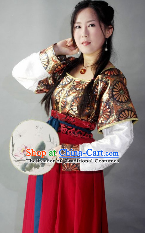 Chinese Tang Costumes Hanfu Costume Ancient Costume Traditional Clothing Traditiional Dress Clothing online