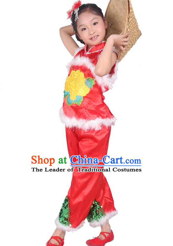 Chinese Han Ethnic Dance Costume Competition Dance Costumes