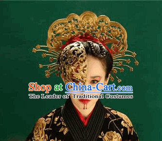 Ancient Chiense Mysterious Lady Mask and Hair Decorations