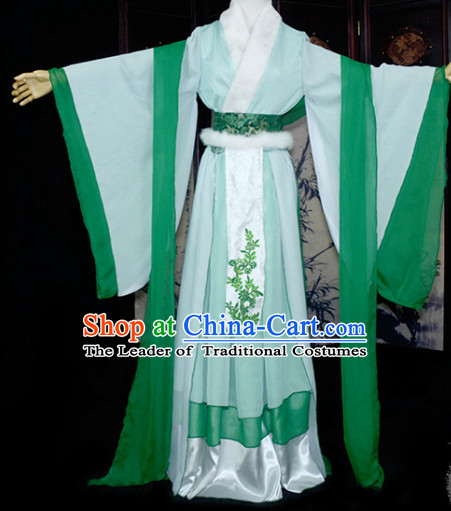 Traditional Chinese Ancient Poet Li Qingzhao Costume for Women