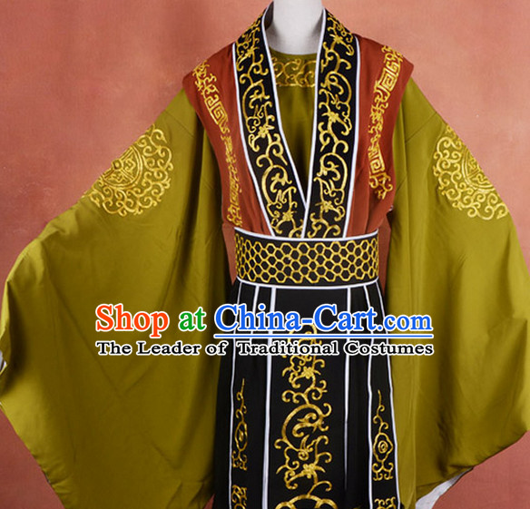 the Eight Immortals Chinese Ancient Zhang Guolao Old Men Costume Complete Set for Adults Kids Men Boys