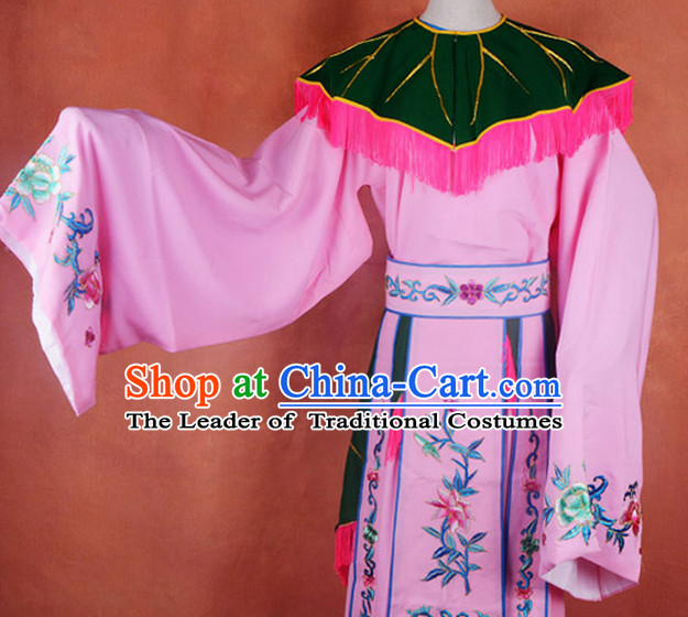 Chinese Ancient Legend Eight Immortals He Xiangu Costume Complete Set for Adults Kids Women Girls