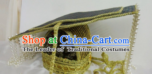 Ancient Chinese Emperor Wu Zetian Crown Hat