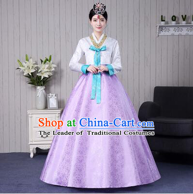 Korean Traditional Dress Women Ancient Clothes Wedding Full Dress Formal Attire Ceremonial Clothes Court Stage Dancing