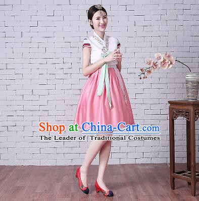 Korean Style Short Sleeves Summer Girls Clothes Wedding Full Dress Formal Attire Ceremonial Clothes Stage Dancing