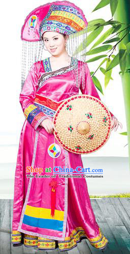 3eab63666 Traditional Chinese Dong Nationality Dancing Costume
