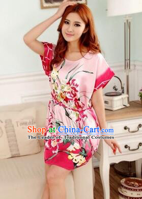 Night Gown Women Sexy Skirt Ancient China Style Chinese Traditional Chinese  Night Suit Nighty Bedgown Orchid ed76202cc